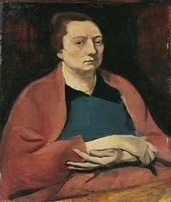 Die Gattin des Künstlers