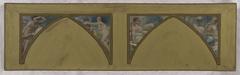 Esquisse pour l'Hôtel de Ville de Paris : Les œuvres philosophiques de Voltaire. L'Encyclopédie, les Essais, Les Pensées