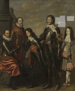 Four Generations of the Princes of Orange: William I, Maurice and Frederick Henry, William II and William III
