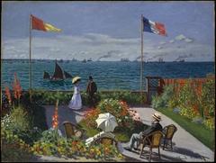 Garden at Sainte-Adresse