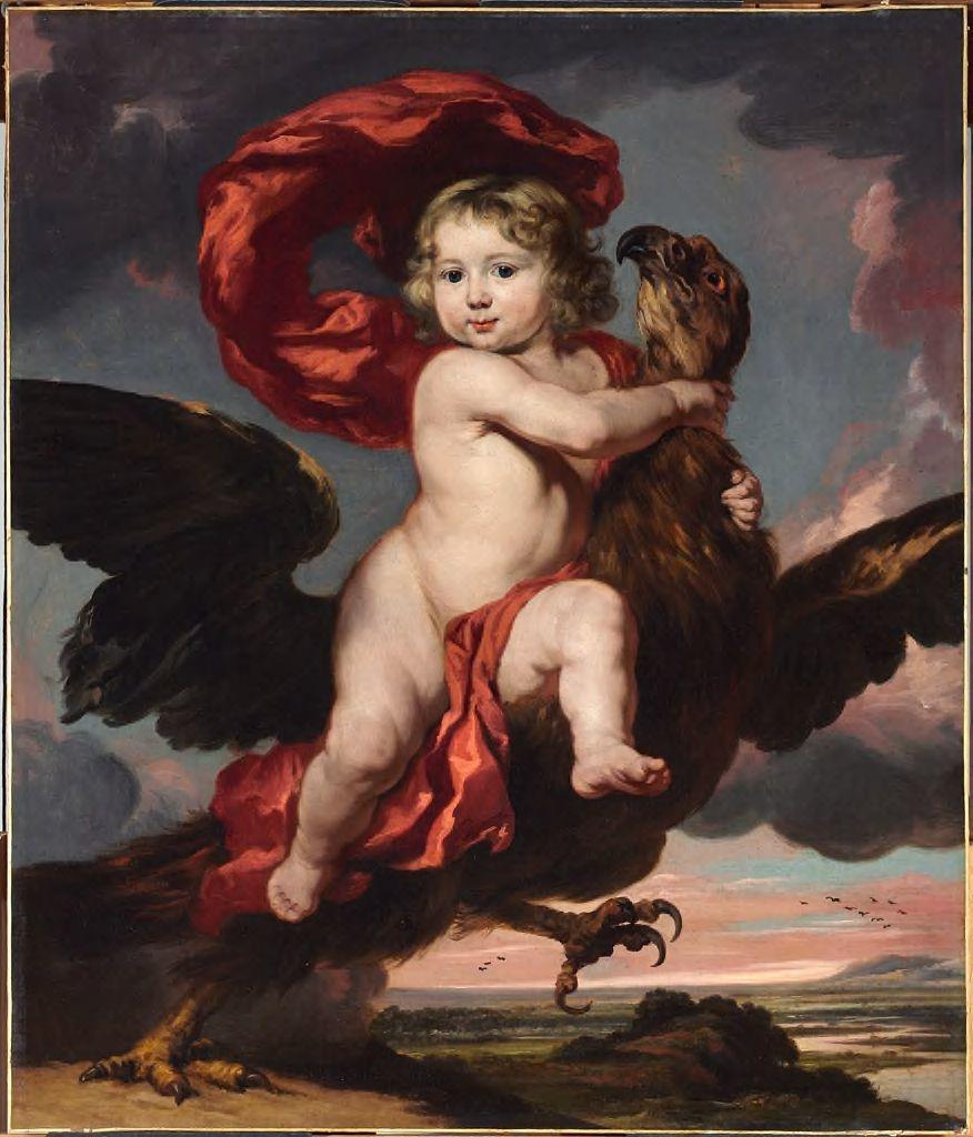 George de Vicq as Ganymede - 1681 - Fogg Art Museum