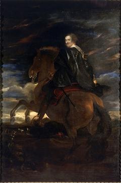 Gio. Paolo Balbi on horseback