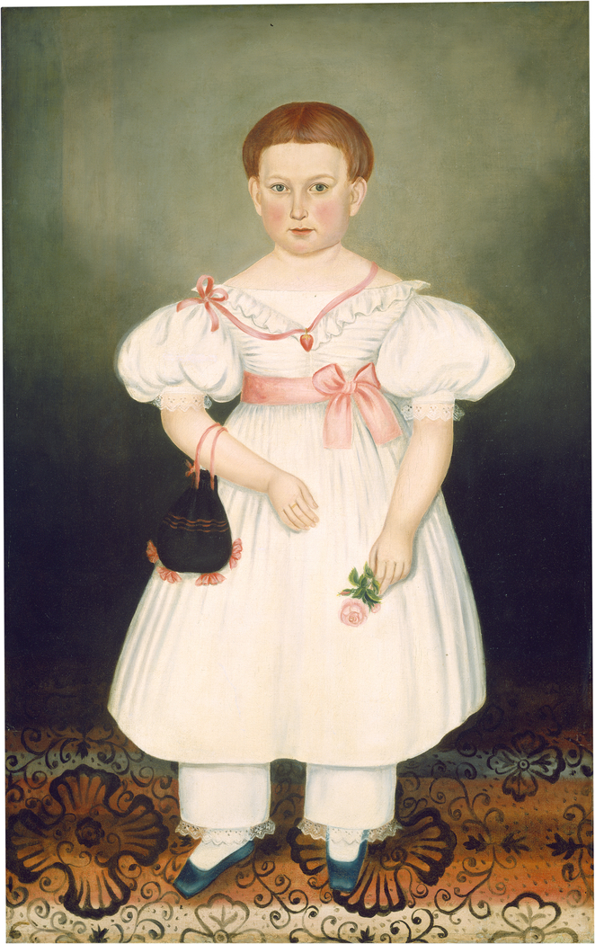 Girl with Reticule and Rose