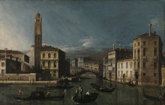 Grand Canal: San Geremia and the Entrance to the Cannaregio