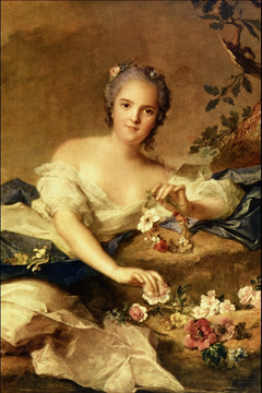 Henriette of France as Flora