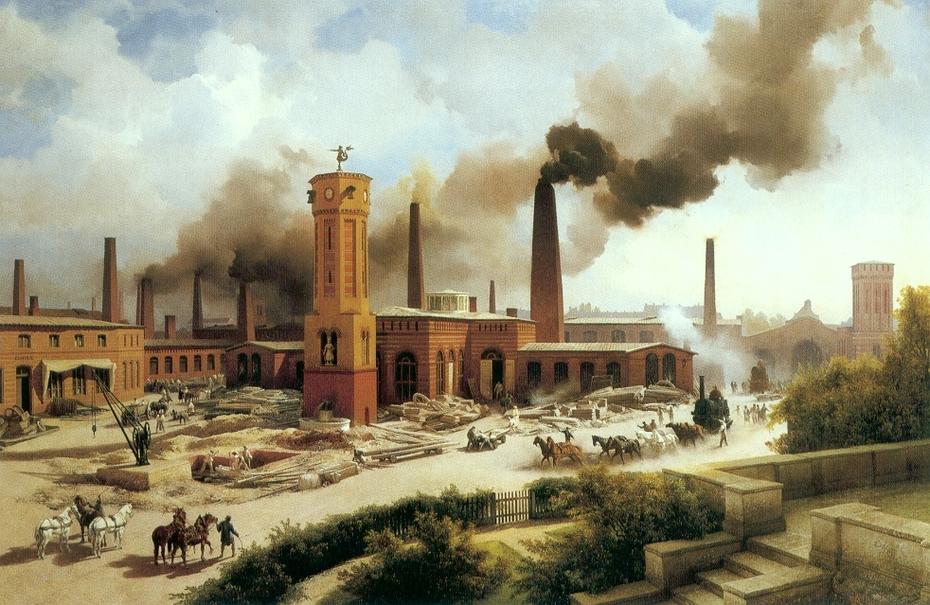 Ironworks Borsig, Berlin