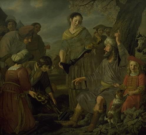 Jacob Burying the Pagan Idols