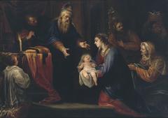 La Presentacion de Jesús en el Templo
