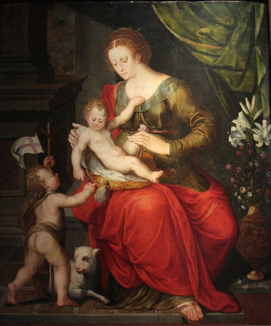 La Vierge à l'Enfant avec saint Jean-Baptiste