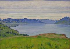 Landscape at Lake Geneva