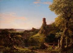 Landscape, The Vesper Hymn:  An Italian Twilight