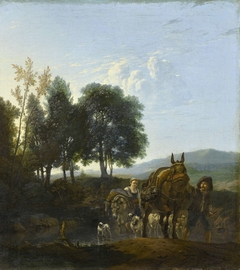 Landscape with Muleteers