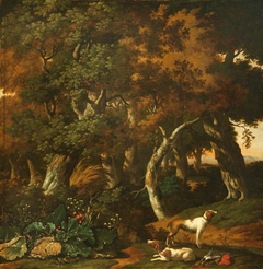 Landscape with Two Hunting Dogs