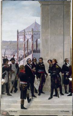 Le Panorama du siècle : Fête de la Fédération 1790 - La Convention 1792