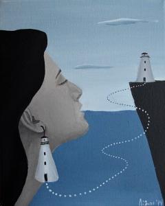 Lighthouse   Sister's portrait