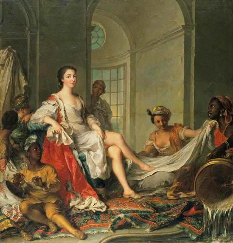 Mademoiselle de Clermont en sultane