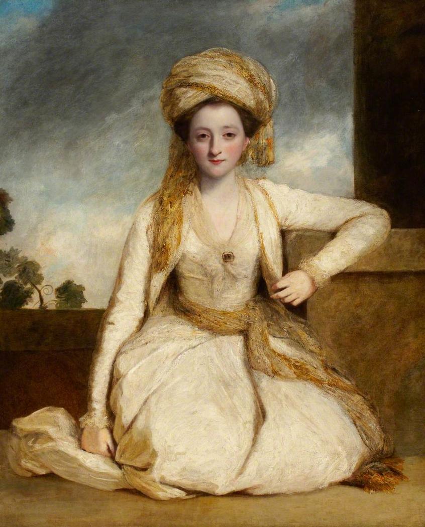 "Mary Horneck, ""The Jessamy Bride"" later Mrs Francis Edward Gwyn (?1752-1840)"
