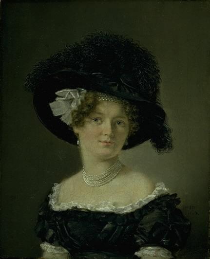 Mathilde Theresia von Irgens-Bergh, née Holsten, Wife of Mathias Friis von Irgens-Bergh