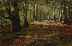 """Midsummer - """"Flecked with Leafy Light and Shadow"""""""