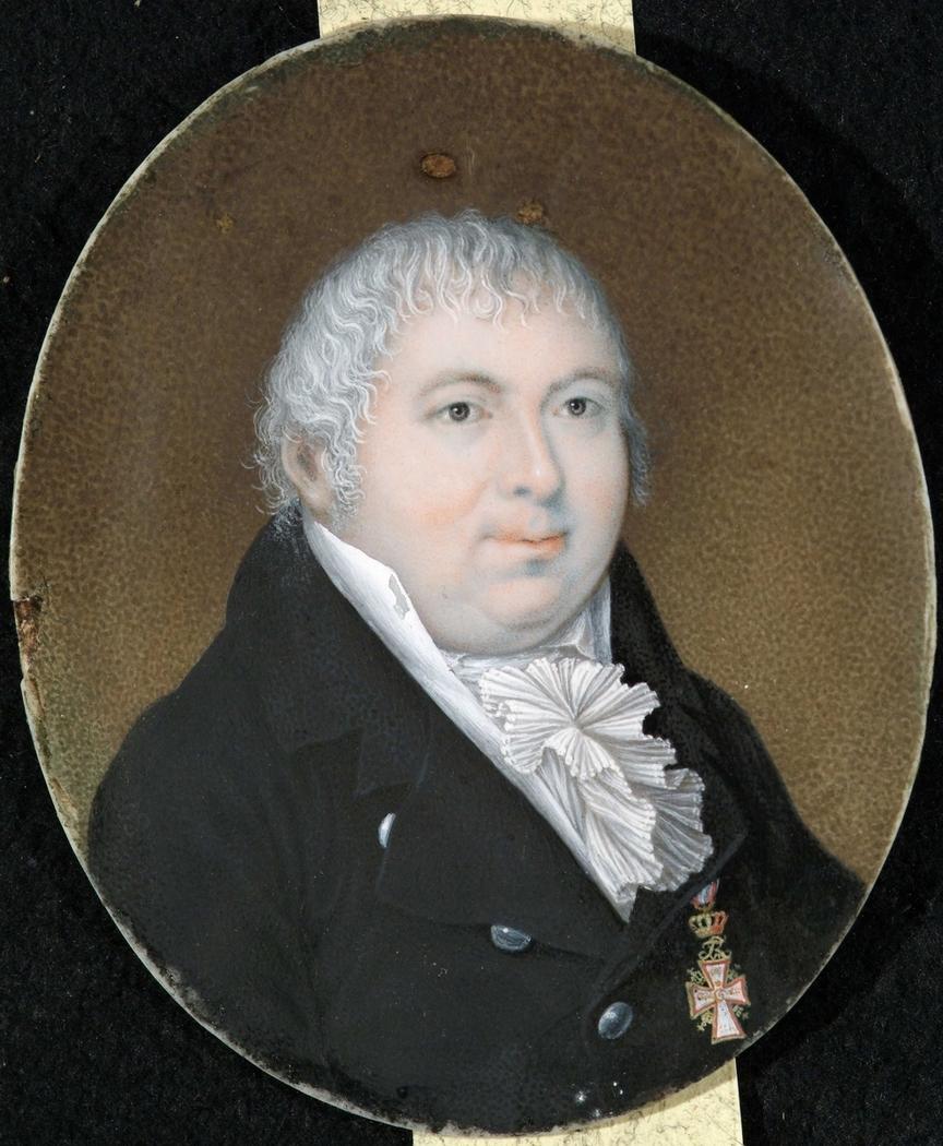 Miniature, portrait of John Collett
