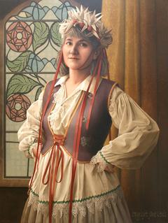 MIRA IN FANCY DRESS