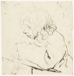 Moses ter Borch, tekenend