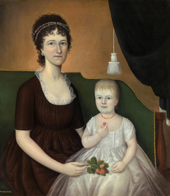 Elizabeth Grant Bankson Beatty (Mrs. James Beatty) and Her Daughter Susan