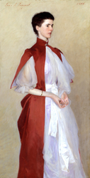 Portrait of Mrs Robert Harrison