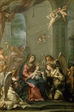 Mystische Verlobung der Hl. Katharina