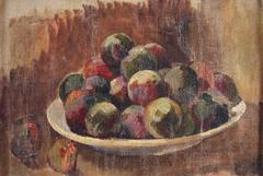 Nature morte à l'assiette de pommes