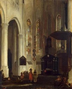 Old Church (Oudekerk) in Delft