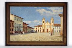 Páteo da Sé e Igreja de São Pedro, 1858