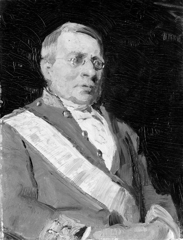 Portræt af rigsgreve Wilhelm Sponneck