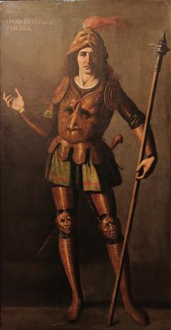 Portrait d'Alvar Belásquez de Lara