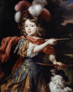 Portrait of a Boy as Adonis