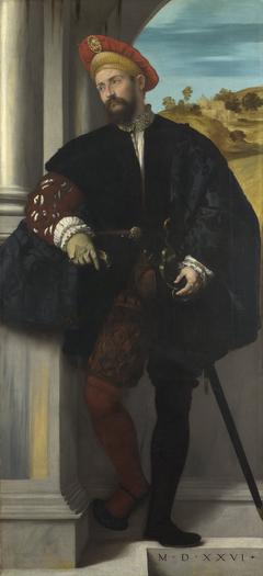 Portrait of a Man (Gerolamo Avogadro?)