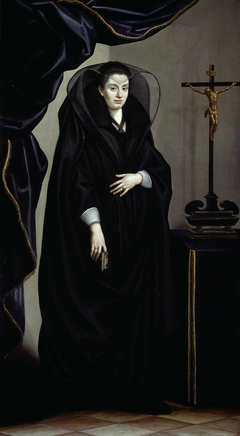 Portrait of a Noblewoman Dressed in Mourning