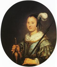 Portrait of a Woman Aged Twenty-one as a Hunter