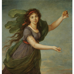 Portrait of a Young Woman as Atalanta, said to be the Artist's Daughter