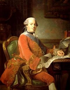 Portrait of Abel-François Poisson, marquis de Marigny