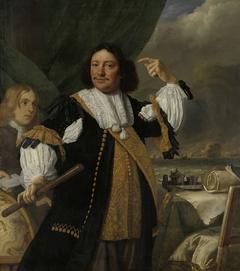 Portrait of Aert van Nes (1626-1693), Vice Admiral