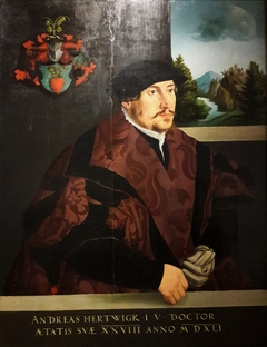Portrait of Andreas Hertwigk, patrician of Wrocław.