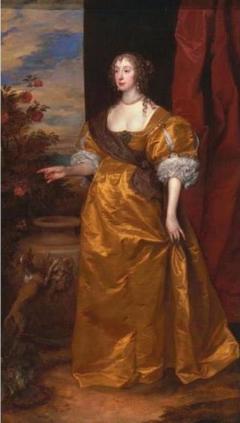 Portrait of Anne Killigrew (1607-1641), wife of George Kirke