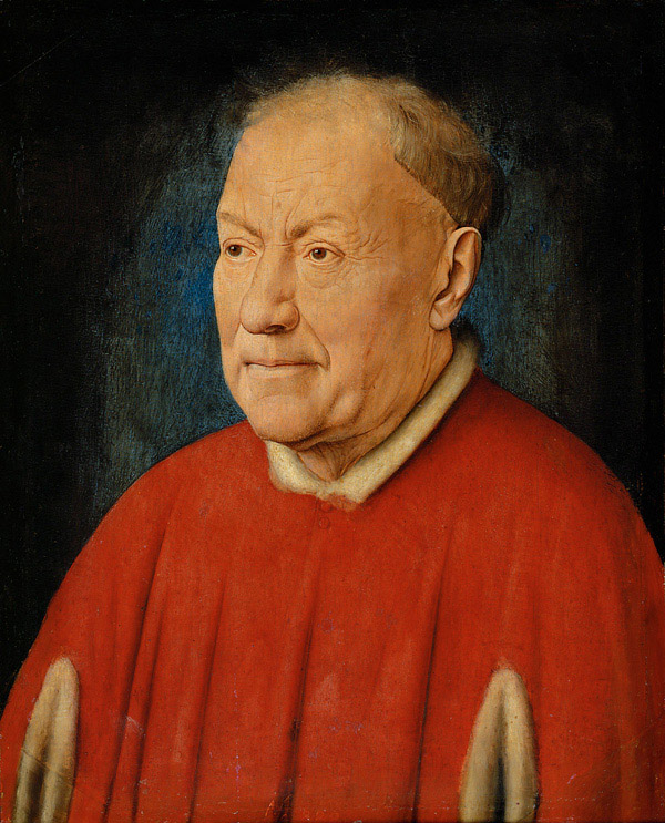 Portrait of Cardinal Niccolò Albergati