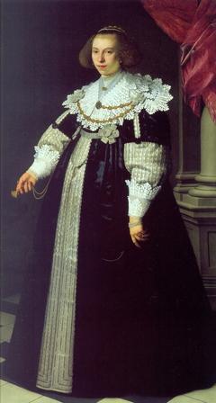 Portrait of Catharina Hooft