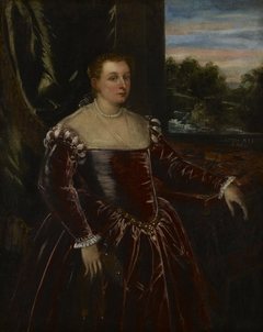 Portrait of Dogaressa Morosina Morosini