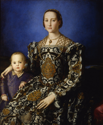 Portrait of Eleanor of Toledo and her son Giovanni de' Medici