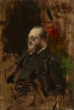 Portrait of Ferdynand Bryndza (1837–1891)
