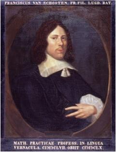 Portrait of Frans van Schooten Jr. (1615-1660)