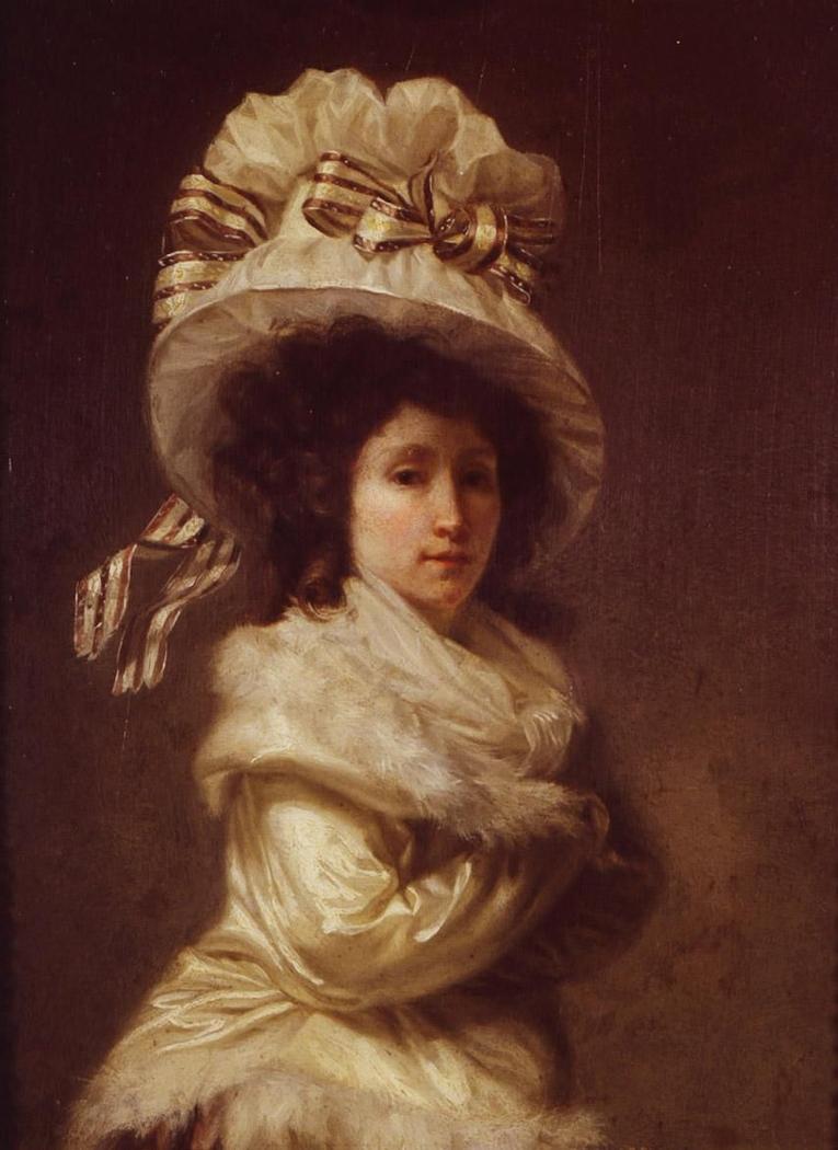 Portrait of Madame Bernier, née Anne Guéret
